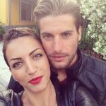Marco Gaggini e la fidanzata