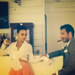 Francesca De André e Daniele Interrante