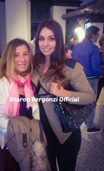 Sharon Bergonzi con una fan