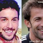 Somiglianza tra Jonás Berami e Alex Del Piero