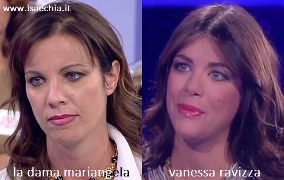 Somiglianza tra Mariangela e Vanessa Ravizza