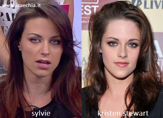 Somiglianza tra Sylvie e Kristen Steward