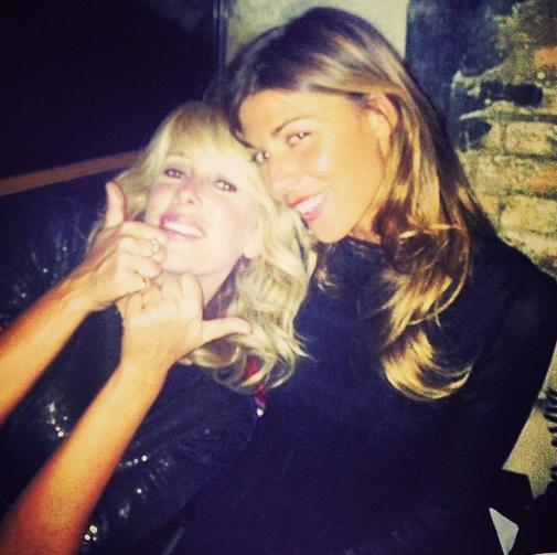 Alessia Marcuzzi e Alessandra Grillo