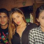 Belen, Jeremias e Cecilia Rodriguez