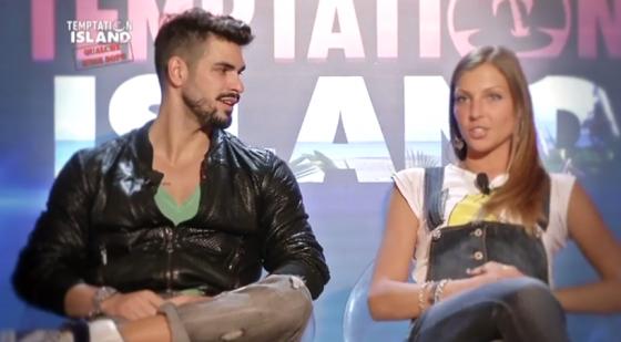 Cristian Galella e Tara Gabeielletto