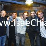 Daniele De Falco, Tommaso Scala, Aldo Palmeri, Manfredi Ferlicchia, Francesco Monte e Cecilia Rodriguez