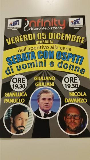 Gianluca Pannullo Giuliano Giuliani e Nicola Davanzo