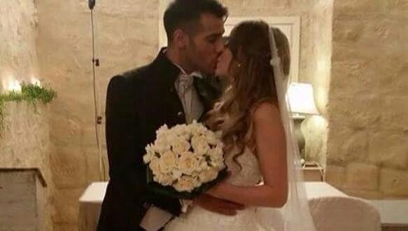 Aldo Palmeri e Alessia Cammarota oggi sposi: ecco le prime foto delle nozze!