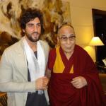 Roberto Ruberti e il Dalai Lama