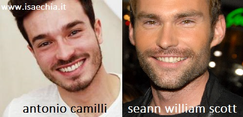 Somiglianza tra Antonio Camilli e Seann William Scott
