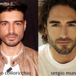 Somiglianza tra Fabio Colloricchio e Sergio Muniz