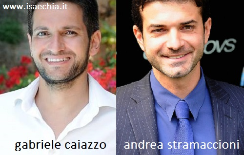Somiglianza tra Gabriele Caiazzo e Andrea Stramaccioni