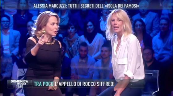 Barbara D'Urso e Alessia Marcuzzi