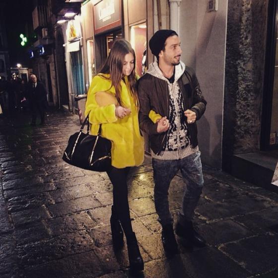 Jonas Berami e Rama Lila Giustini