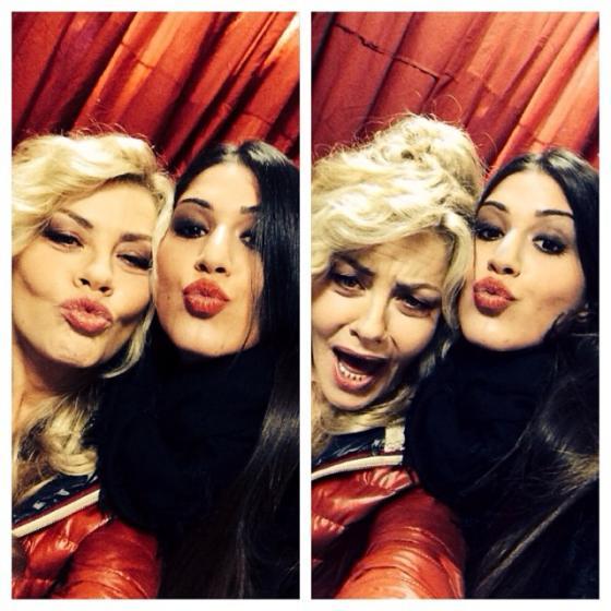 Adriana Peluso e Eva Grimaldi