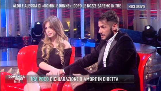 Alessia Palmarota e Aldo Palmeri