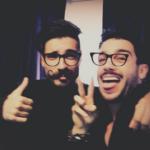 Fabio Colloricchio e Jonas Berami
