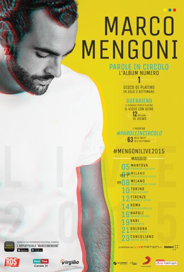 Marco Mengoni tour