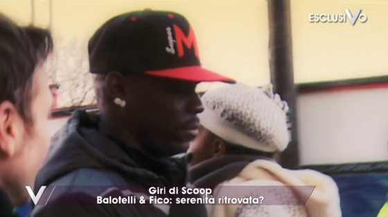 Pia e Mario Balotelli