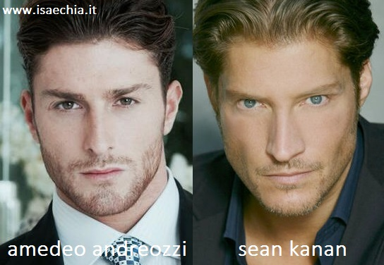 Somiglianza tra Amedeo Andreozzi e Sean Kanan