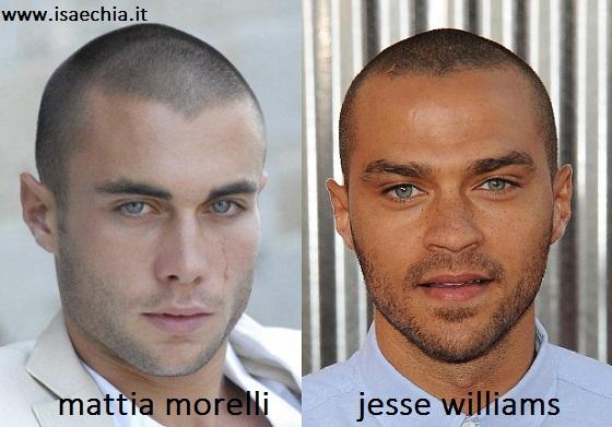 Somiglianza tra Mattia Morelli e Jesse Williams