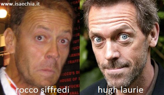 Somiglianza tra Rocco Siffredi e Hugh Laurie