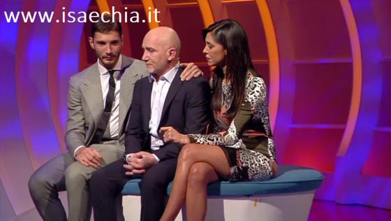 Belen Rodriguez e Stefano De Martino ospiti a 'C'è Posta per Te'