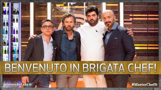 Bruno Barbieri, Carlo Cracco, Antonino Cannavacciuolo, Joe Bastianich