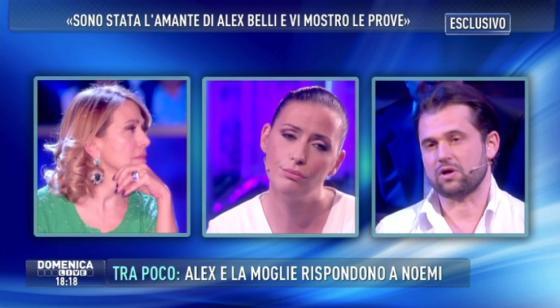 Domenica Live - Barbara D'Urso e Noemi Addabbo