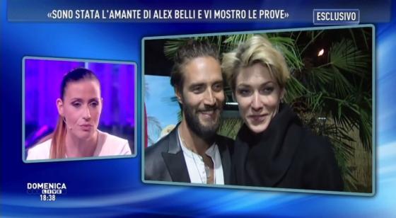 Domenica Live - Noemi Addabbo Alex Belli e Katarina Raniakova
