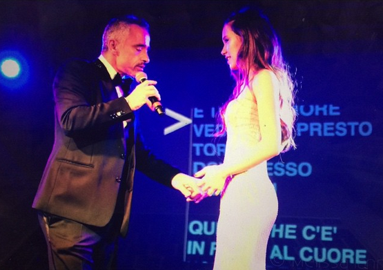Eros e Aurora Ramazzotti