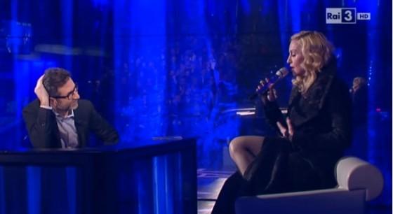 Fabio Fazio e Madonna