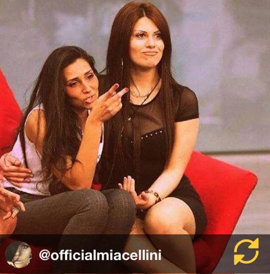 Francesca Cioffi e Mia Cellini