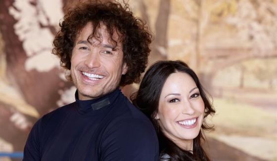 Giorgio Rocca ed Eve Bentley