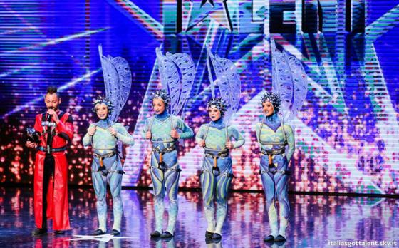 Leonardo Fumarola a 'Italia's Got Talent'