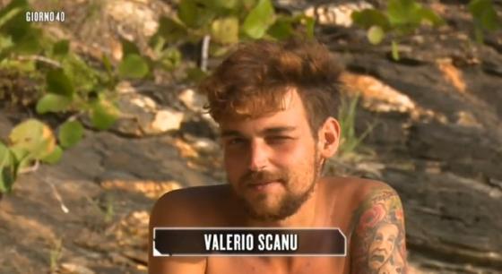 L'isola dei Famosi - Valerio Scanu