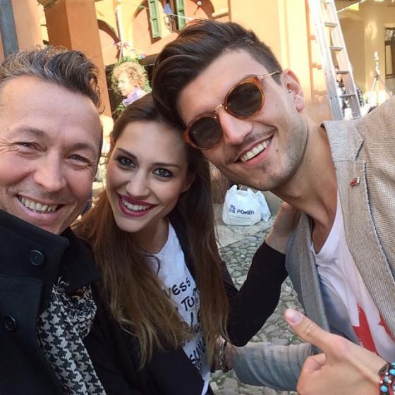 Paolo Belli, Beatrice Valli, Marco Fantini