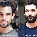 Somiglianza tra Brice Martinet e Francesco Arca