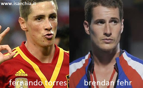 Somiglianza tra Fernando Torres e Brendan Fehr