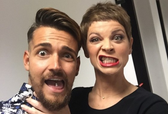 Valerio Scanu e Alessandra Amoroso