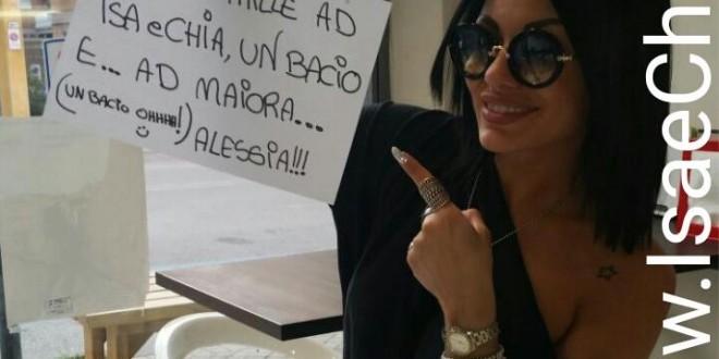 """Alessia Castellani a IsaeChia.it: """"Se potessi tornare indietro, scenderei a corteggiare Amedeo Andreozzi!"""""""