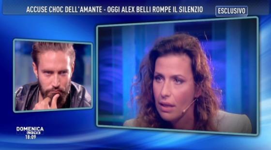 Domenica Live - Alex Belli e Noemi Addabbo