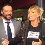 Giancarlo Frascarelli e Alessandra Mussolini