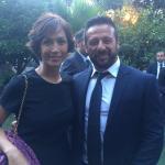 Giancarlo Frascarelli e Mara Carfagna