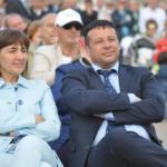 Giancarlo Frascarelli e Renata Polverini