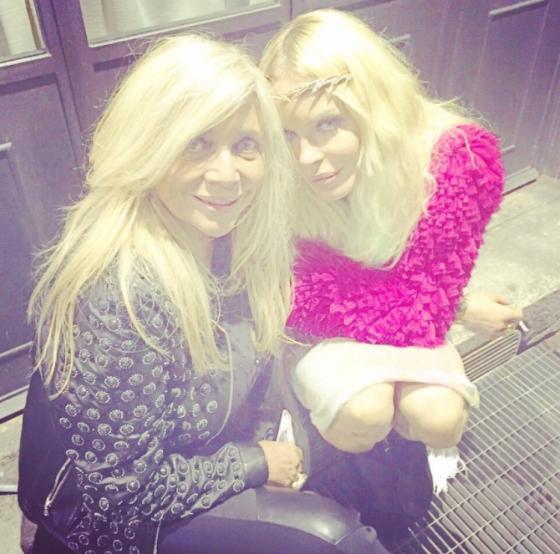 Mara Venier e Nina Moric