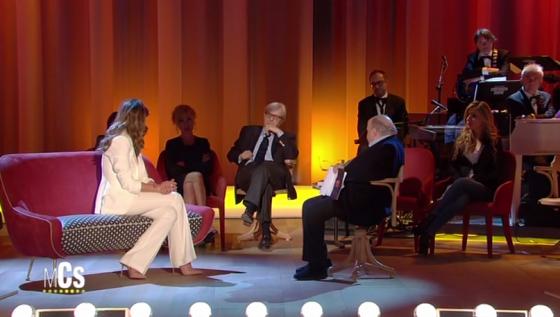 Maurizio Costanzo Show - Claudia Galanti, Vittorio Sgarbi e Maurizio Costanzo