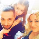 Salvatore Angelucci, Karina Cascella e Ginevra Angelucci