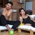 Andrea Cerioli e Valentina Rapisarda