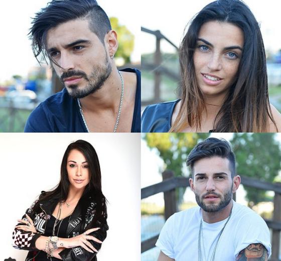 Fabio Colloricchio, Nicole Mazzocato, Andrea Melchiorre e Valentina Dallari